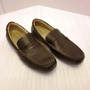 NWOB Sperry Dark Brown Driving Shoes Size 10 M